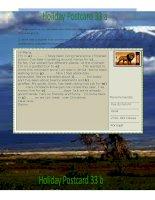 27803 holiday postcard 33 a b