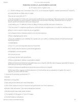 Curriculum vitae  covering letter