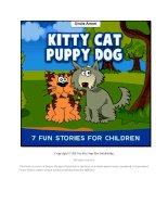 kitty cat puppy dog pdf