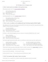 Vivs have worksheet for level 3