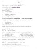 Vivs have worksheet for level 1