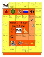 987 board game  name 3 things easy