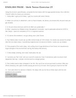 ENGLISH PAGE   verb tense exercise 21