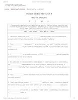 ENGLISH PAGE   modal verbs exercise 5