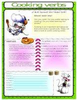 23633 cooking verbs