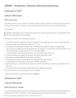 UEfAP   grammar  clauses structure exercise