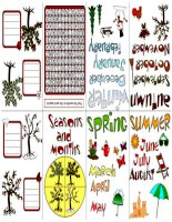 33028 seasons and months  minin book