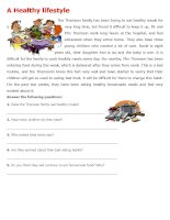 islcollective worksheets intermediate b1 elementary school reading writing food activity  games reading  a healthy lifes 343886822546525b4b7e053 82844304