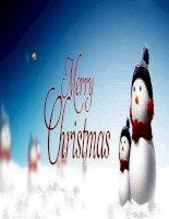 slide thuyet trinh ve christmas