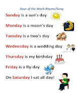 66319 days of the week rhyme song