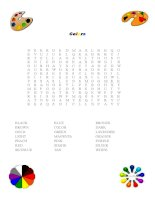 27299 colors word search