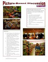 25665 picturebased discussion elementary  10 shopping