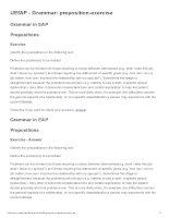 UEfAP   grammar  preposition exercise