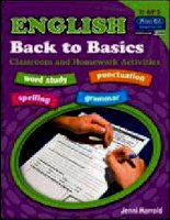 English   back to basics classroom and homework activities bookd