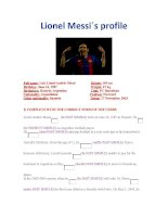 28465 past simple  lionel messi