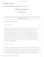 ENGLISH PAGE   mixed prepositions 2
