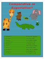 52564 comparative and superlative