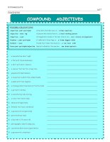4427 compound adjectives