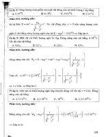 CẨM NANG ôn LUYỆN THI đại học, CAO ĐẲNG môn vật lý (tập 2   p3)   NGUYỄN ANH VINH