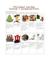 10448 phrasal verbs  come  prepositionkey included