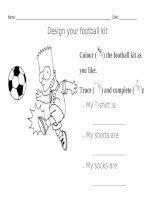 2362 design your fooitball kit