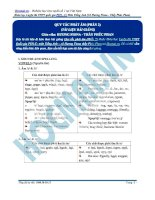 Các quy tắc phát âm phần 2
