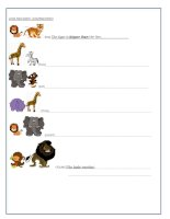 54860 animals comparatives