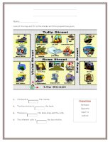 islcollective worksheets elementary a1 elementary school writing prepositions of place places picture descripti places i 817393451563fb713c8f0c0 97013545