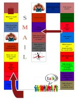 48660 small talk board game