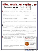 islcollective worksheets preintermediate a2 intermediate b1 adults high school writing conjunctions aka connectives eg  17403595395602ca72505c77 60068013