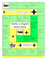 14381 board game  maths in english