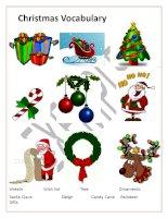 63166 christmas vocabulary