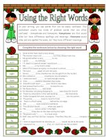 4039 homophones and homonyms