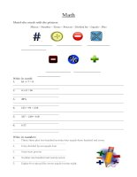 12854 math vocabulary worksheet