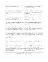28560 job conversation questions