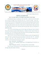 Thông cáo báo chí YOU CAN 2015 Học Viện Tài Chính