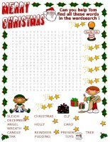 14340 xmas wordsearch