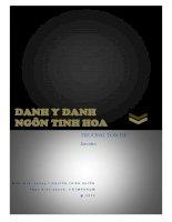 DANH y DANH NGÔN TINH HOA