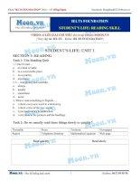 2016 IELTS foundation   student life   unit 1   baigiang
