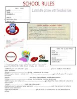 60855 school rules