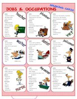 68842 jobs  occupations speaking cards