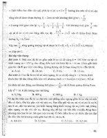 CẨM NANG ôn LUYỆN THI đại học, CAO ĐẲNG môn vật lý (tập 1   p2)   NGUYỄN ANH VINH