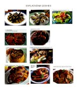 11461 explaining dishes