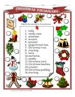 63019 christmas vocabulary ws
