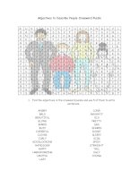 26329 adlectives to describe people wordsearch