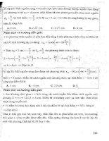 CẨM NANG ôn LUYỆN THI đại học, CAO ĐẲNG môn vật lý (tập 1   p3)   NGUYỄN ANH VINH