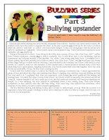 6068 bullying series  part 3  bullying upstander
