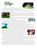 61473 nice story  4 pages of comprehension exercises