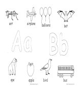 13203 alphabet for coloring