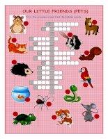 53464 pets 2 crossword puzzle